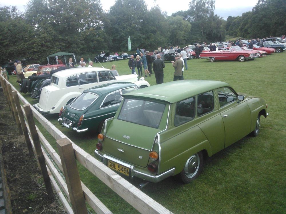 Chaddesley Corbett Classic Car Show