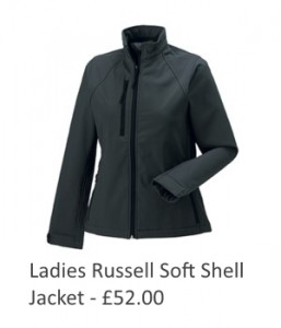 Ladies Russell Soft Shell Jacket