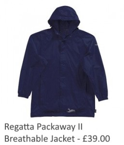 Regatta Packaway ll Breathable Jacket