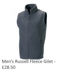 Mens Russell Fleece Gilet