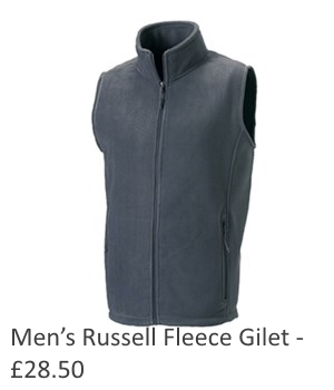 Mens Russell Fleece Gilet