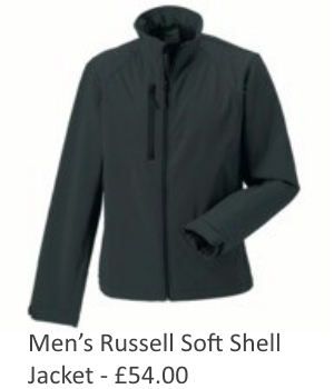 Mens Russell Soft Shell Jacket