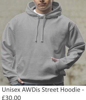 Unisex AWDis Street Hoody