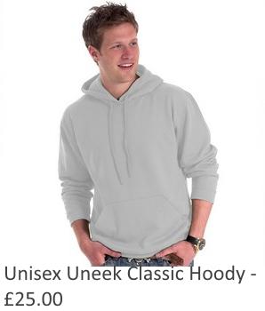Unisex Uneek Classic Hoody
