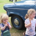 We love Classic Cars and Ice Cream