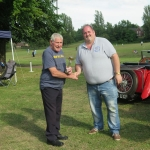 2nd in show -Jim Round - Mercedes 250