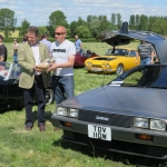 A prize for the iconic Delorean