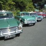 Some very nice Classic Cars at Highley SVR Station