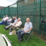 Members chilling at the show