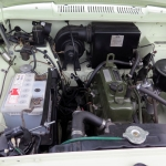 Show featured car - Austin A60 excellent engine bay