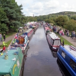 The Boating Festival in full swing