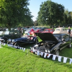 Black Country Classic Car Stand at Himley