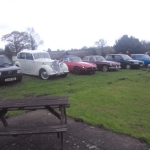 Club cars at The Waggon & Horses - Informal meet organised by The Unnamed Classic Car Group