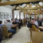 Club members enjoying the excellent breakfast.