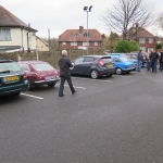 The meet at the Hadcroft Lye - (Some bave members with their classic cars but in adverse weather the club welcomes members every day cars for social events)