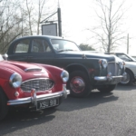 Arrival at the Bennet End Inn - Lovely display of classics