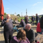 Club members enjoying the sun - Well done Mark what a great day