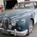Mk11 Jaguare under restoration