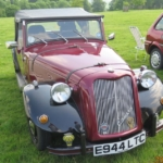 New Club member Keith brings his Canard kit car to Ragley Hall