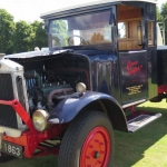 The Bathems truck at Enville