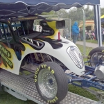 Sneaky Blinder - A Fiat dragster
