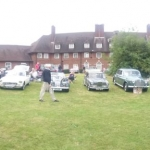 Club members classic cars