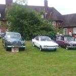 Club members classic cars