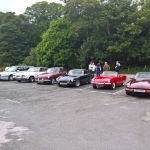 Meeting up at the Fox in Stourton